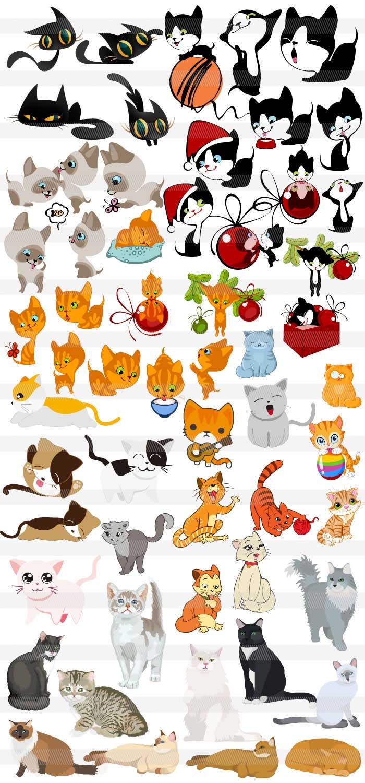 可愛い犬・猫のイラスト| illustratorの可愛い動物素材集